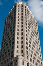 Old Hi-rise Detroit Royalty Free Stock Images