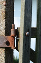 Old hinge detail of an Royalty Free Stock Photography