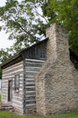 Old historic log cabin Royalty Free Stock Photo