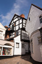 Old Historic Town Street, England Royalty Free Stock Photos
