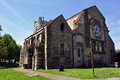 Old historic Waltham Abbey church building, England, UK Royalty Free Stock Photo