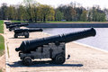 Old historical cannon Royalty Free Stock Photo
