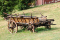Old Horse Cart Stock Images
