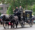 Old Horse Drawn Funeral Carriage Royalty Free Stock Photo