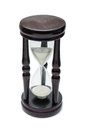 The old hourglass. Royalty Free Stock Photo