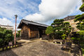 Old house in Dejima island in Nagasaki, Japan Royalty Free Stock Photo