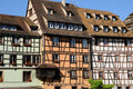 Old house in the district of La Petite France in Strasbourg Stock Photography