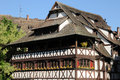 Old house in the district of La Petite France in Strasbourg Stock Image
