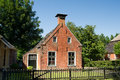 Old house in Friesland Royalty Free Stock Images