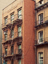 Old House in Manhattan Stock Images