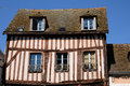 An old house in Nogent le Roi in Eure et Loir Royalty Free Stock Photo