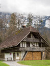 Old house in an open air museum in switzerland Royalty Free Stock Images