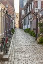 Old house in Ribe - Denmark Royalty Free Stock Photo