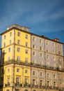 Old house on riverbank of duoro in porto colorful Royalty Free Stock Photos