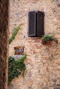 Old House in San Gimignano Royalty Free Stock Photography