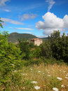Old house in sardinian landscape Royalty Free Stock Photography
