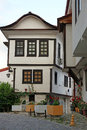 Old house street Ohrid Royalty Free Stock Photo