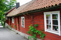 Old house. Sweden Stock Photo