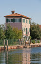 Old house in Torcello Stock Image