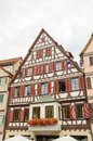 Old house of Tubingen old town Royalty Free Stock Photo