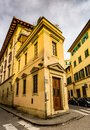Old house on Via di Mezzo, 4R in Florence, Italy Royalty Free Stock Photo
