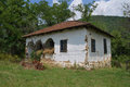 Old houses farmhouse made in the typical style of a th century serbian village balta berilovac near kalna Royalty Free Stock Photos