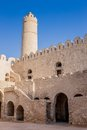 Old houses in medina in sousse tunisia view of Royalty Free Stock Photo