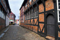 Old houses in Ribe Royalty Free Stock Images