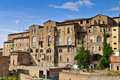 Old houses in siena Stock Photography