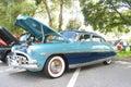 Old Hudson Hornet car Royalty Free Stock Photo