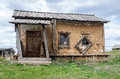 Old hut house Royalty Free Stock Photo