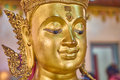 Old image budda in temple Stock Images