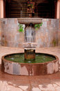 Old Inca style Water fountain in Peru Stock Images