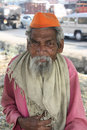 Old Indian Beggar Stock Images