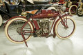 Old indian motorcycle this is a very museum quality Royalty Free Stock Images