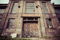 Old industrial building in Gdansk Stock Photography