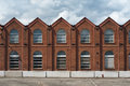 Old industrial   facade Royalty Free Stock Photo