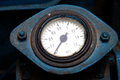 Old industrial pressure gauge Stock Photos