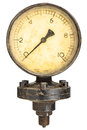 Old industry display mano meter Stock Image