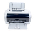 Old inkjet printer Royalty Free Stock Photography