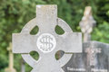 Old irish cemetery cross at muckross abbey county kerry ireland Stock Image