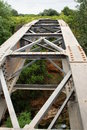 Old iron bridge Royalty Free Stock Photo