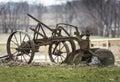 Old Iron Farm Plow