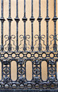 Old iron gate Stock Photography