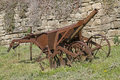 Old iron plow