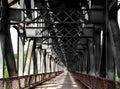 Old iron and steel bridge
