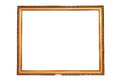 Old isolated painting frame Royalty Free Stock Photo