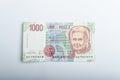 Old Italian banknotes, money