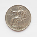 Old Italian coin Royalty Free Stock Photo