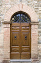 Old italian door Royalty Free Stock Photography